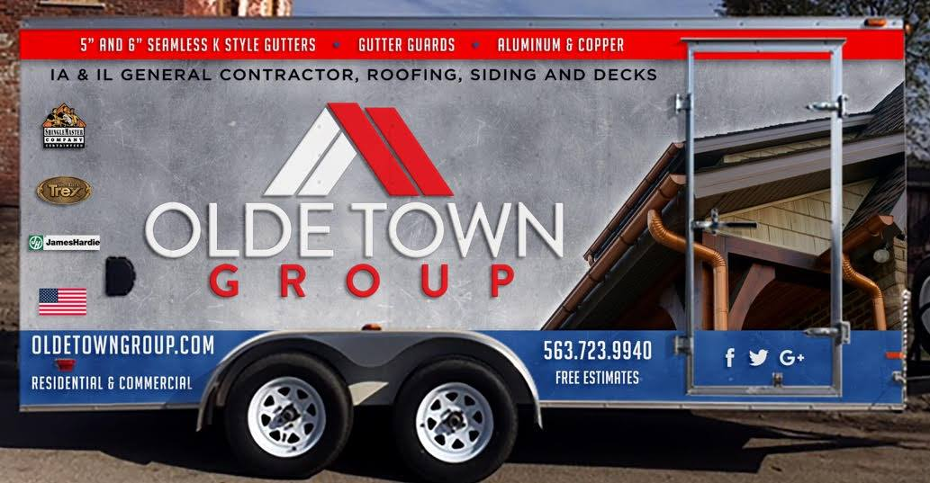 Olde Town Group Gutter Trailer